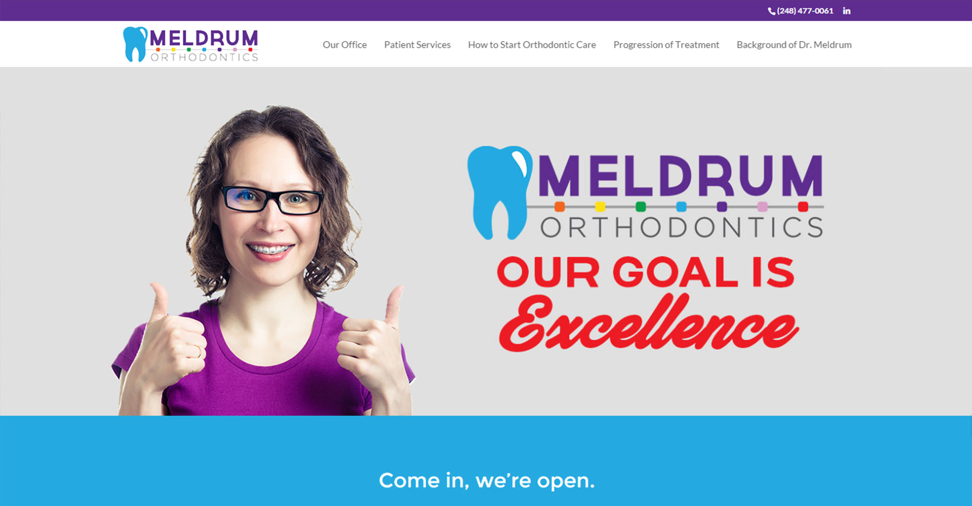 Meldrum Orthodontics - Zoda Design