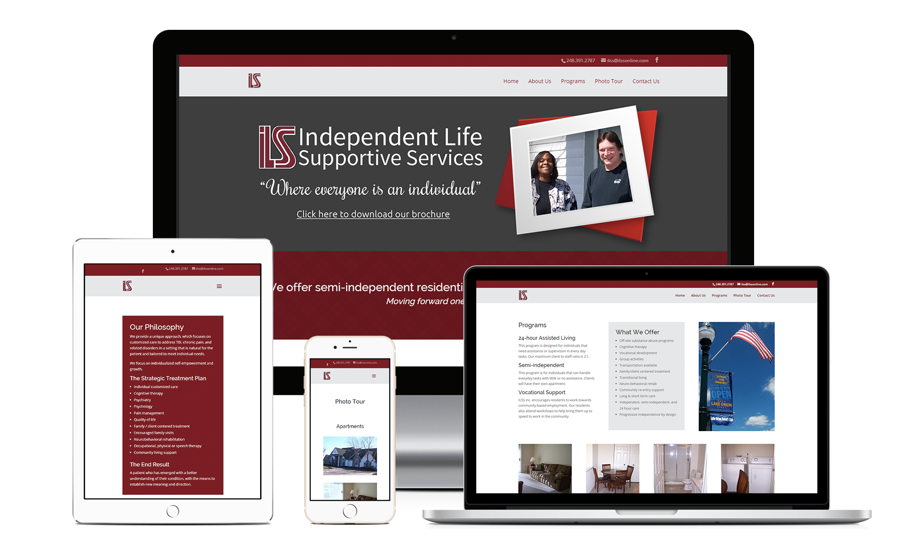 Independent Life Supportive Services - Zoda Design