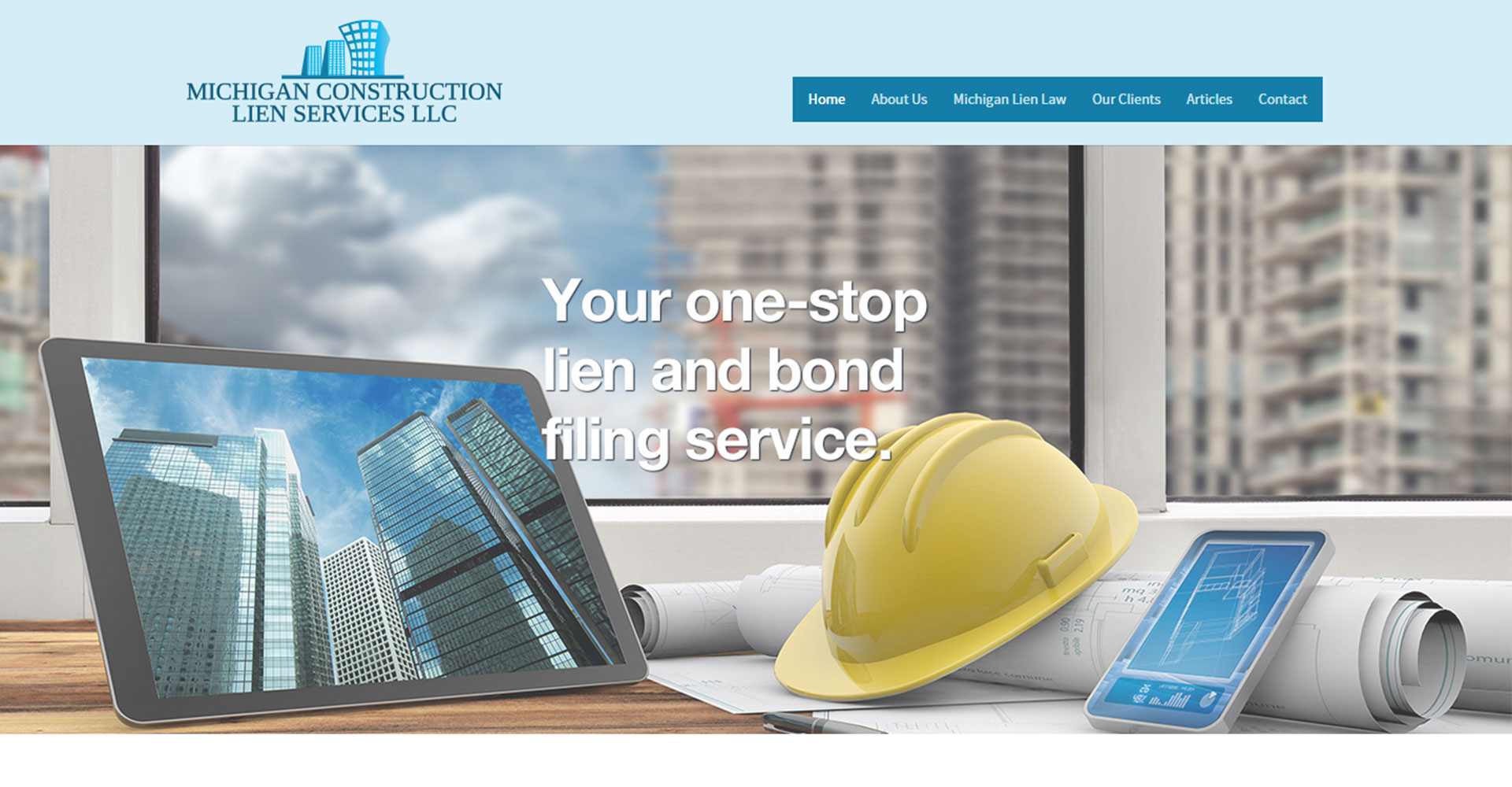 Michigan Construction Lien Services - Zoda Design