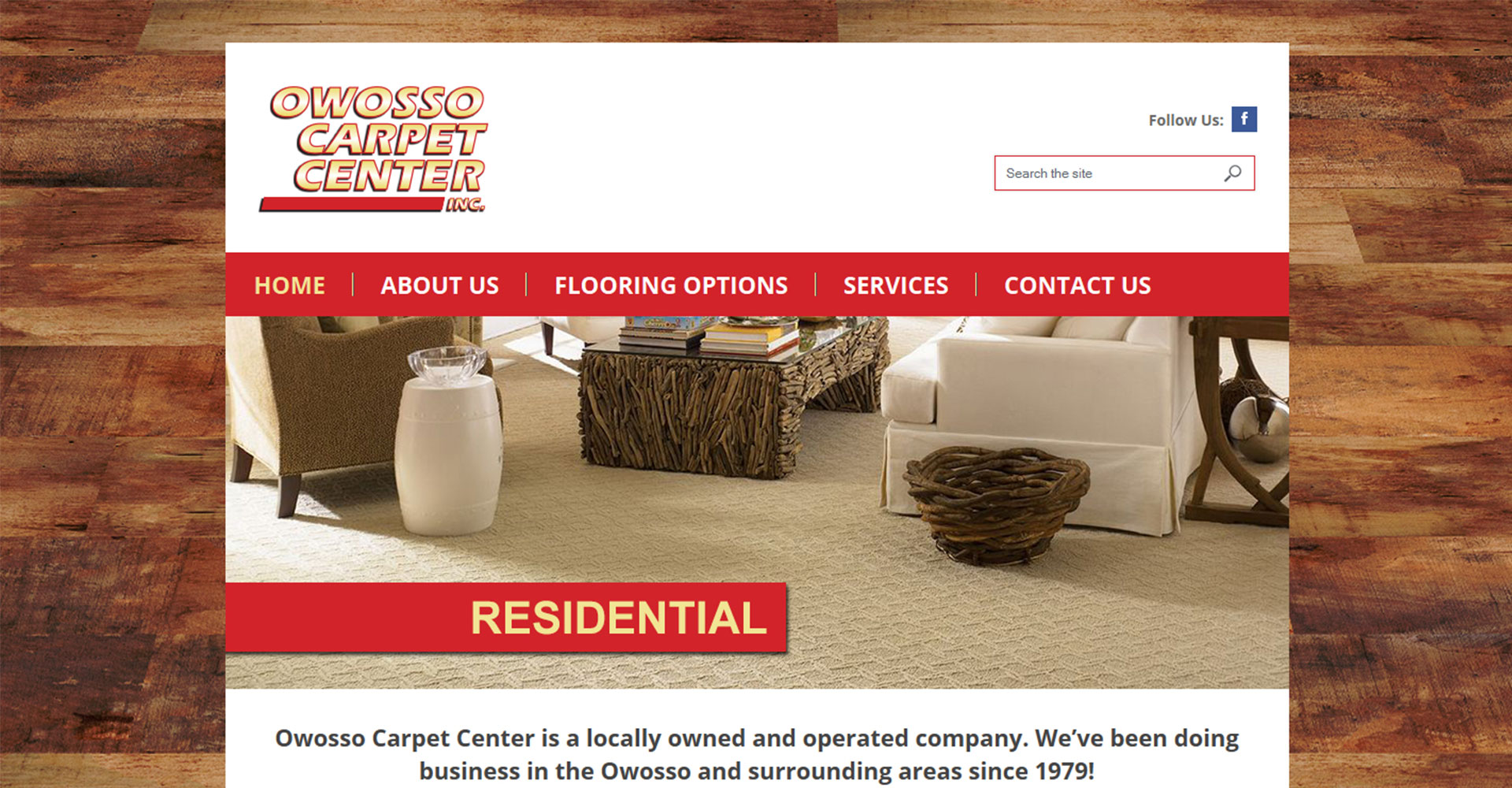 Owosso Carpet Center - Zoda Design