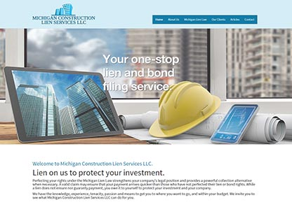 Michigan Construction Lien Services