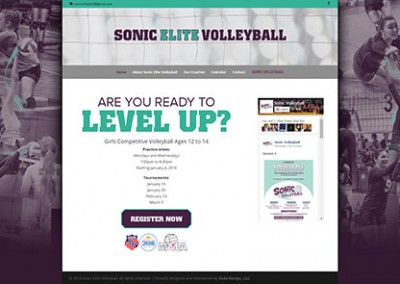 Sonic Elite Volleyball