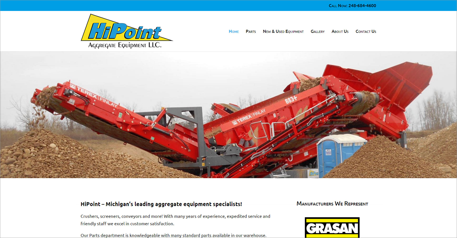 HiPoint Aggregate Equipment LLC - Zoda Design