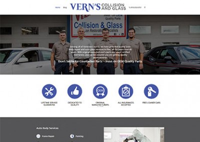 Vern's Collision and Glass