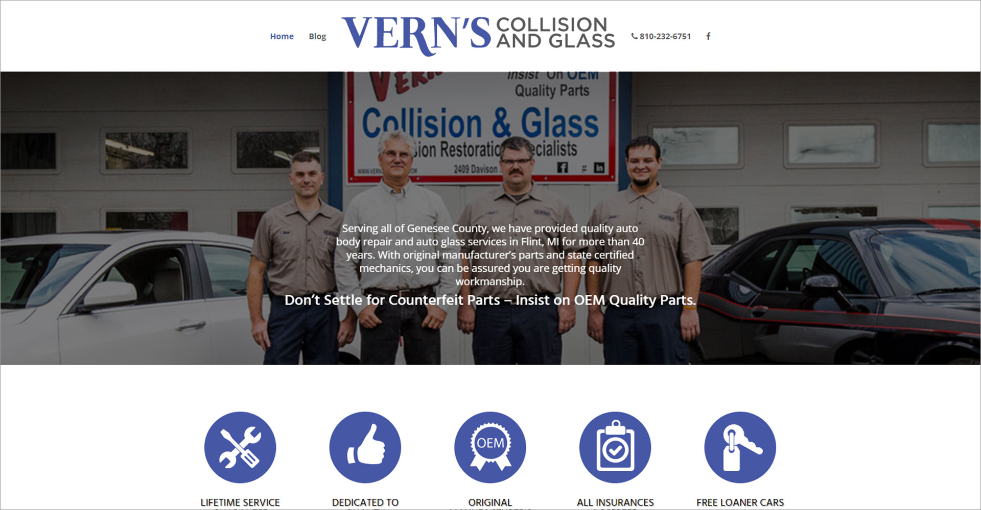 Vern's Collision and Glass - Zoda Design