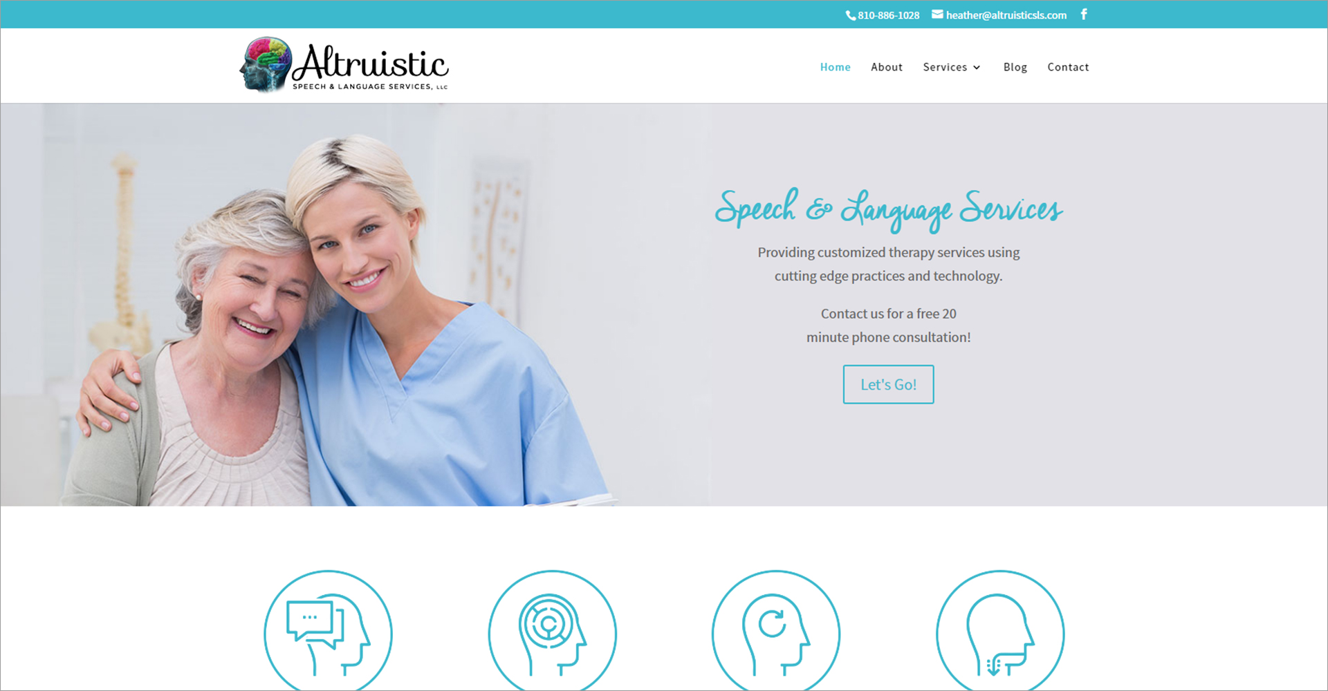 Altruistic Speech and Language Services - Zoda Design