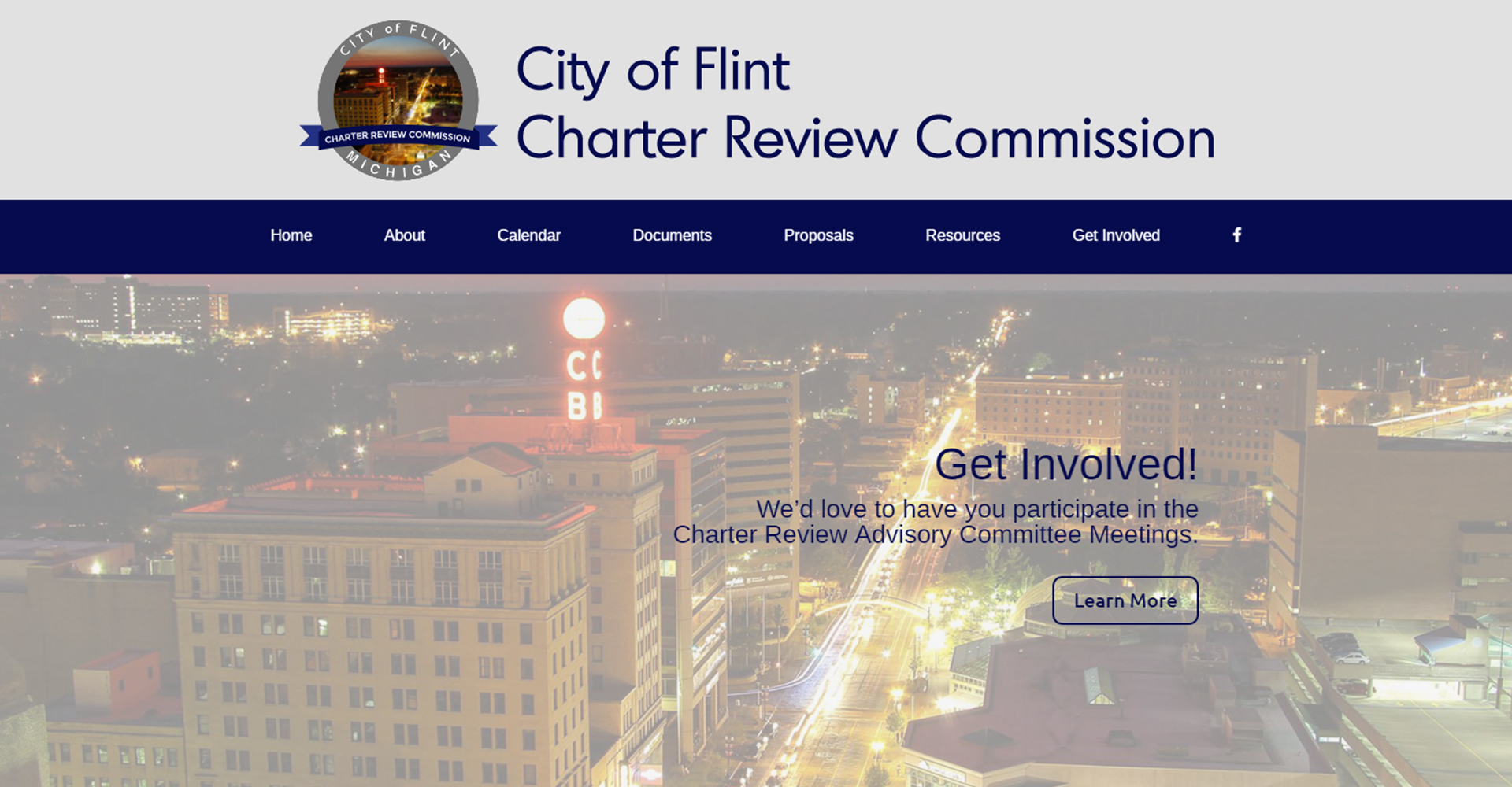 Flint Charter Review Commission - Zoda Design