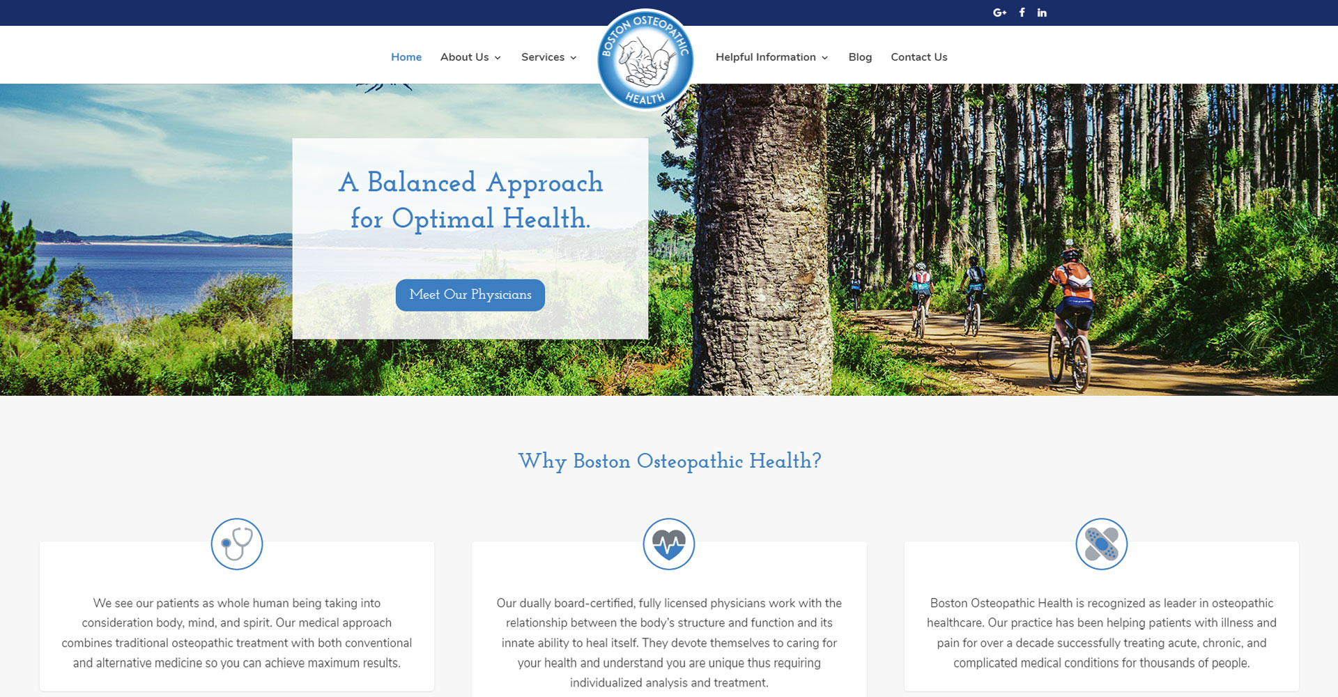 Boston Osteopathic Health - Zoda Design