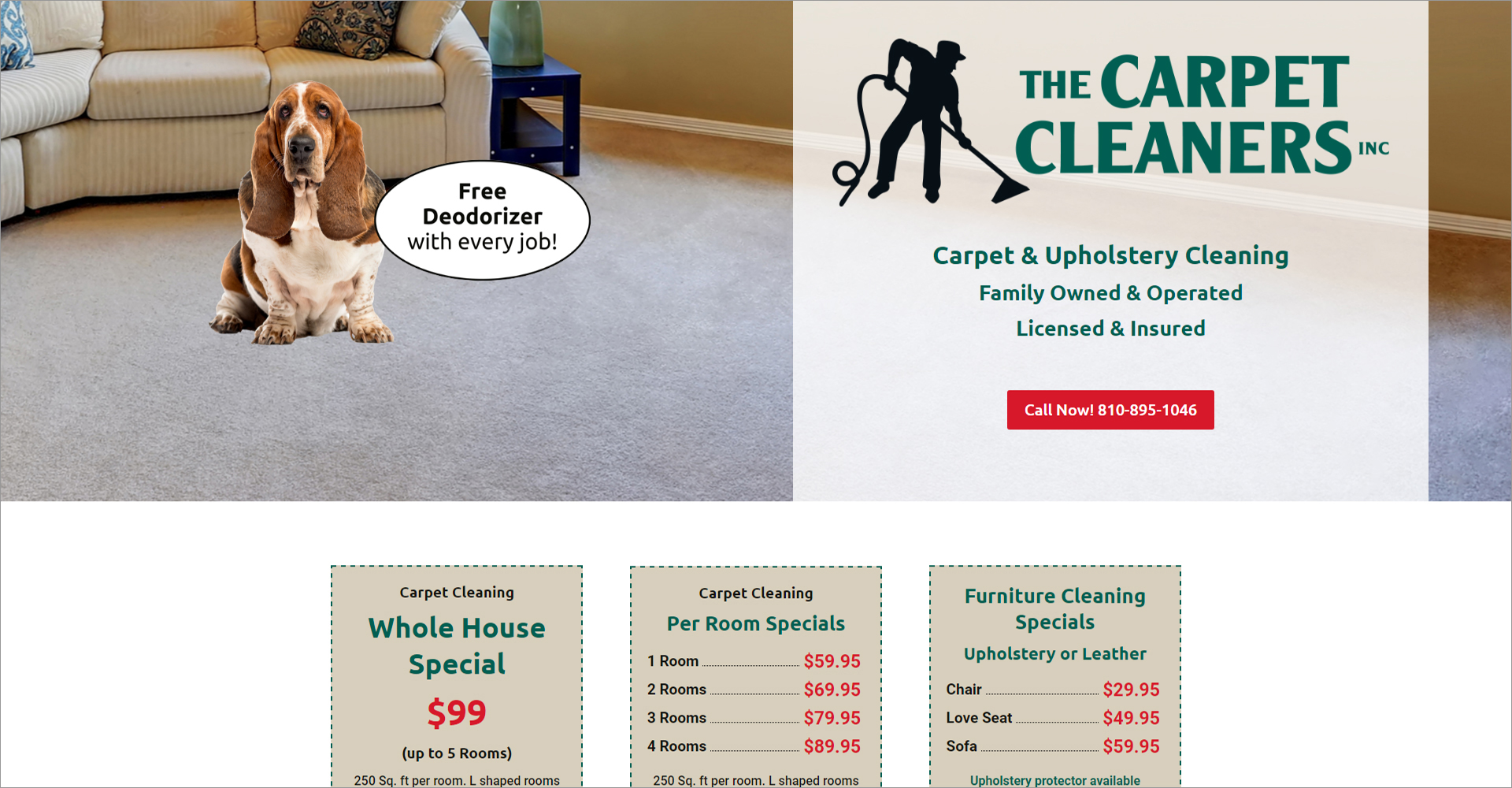 The Carpet Cleaners, Inc - Zoda Design