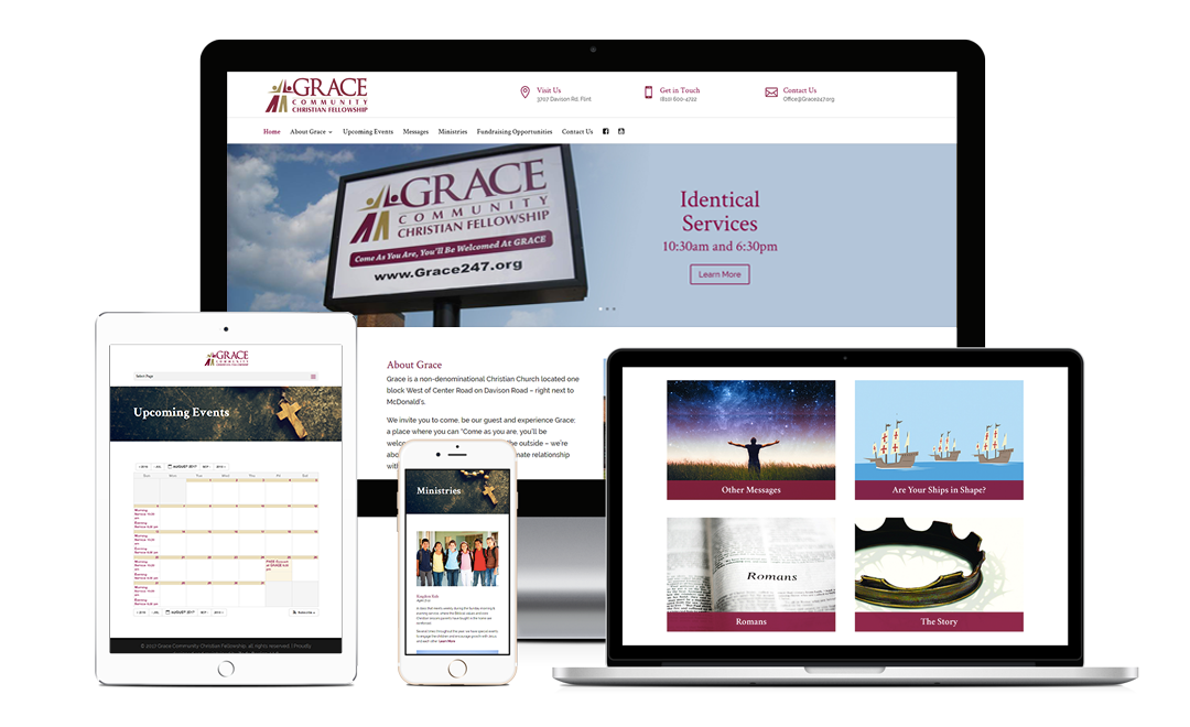 Grace Community Christian Fellowship - Zoda Design