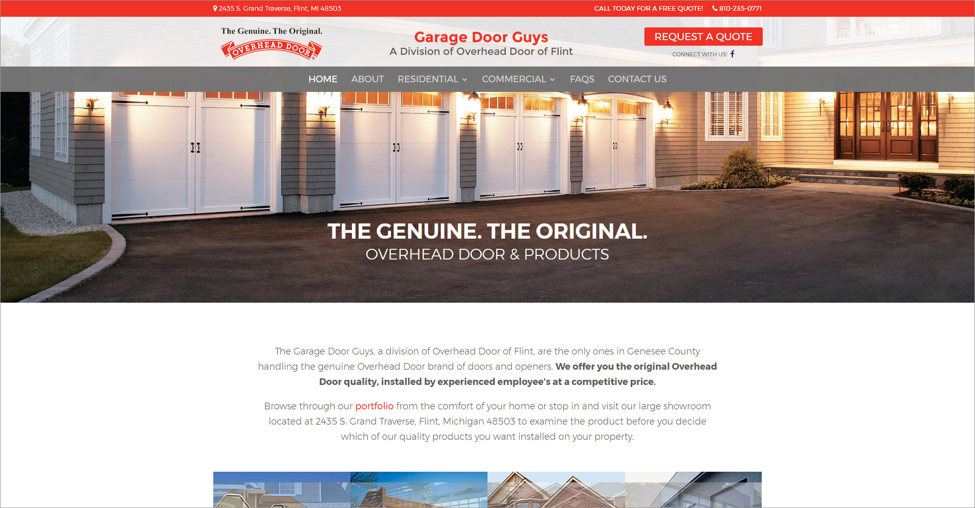 Garage Door Guy Of Flint   Zoda Design