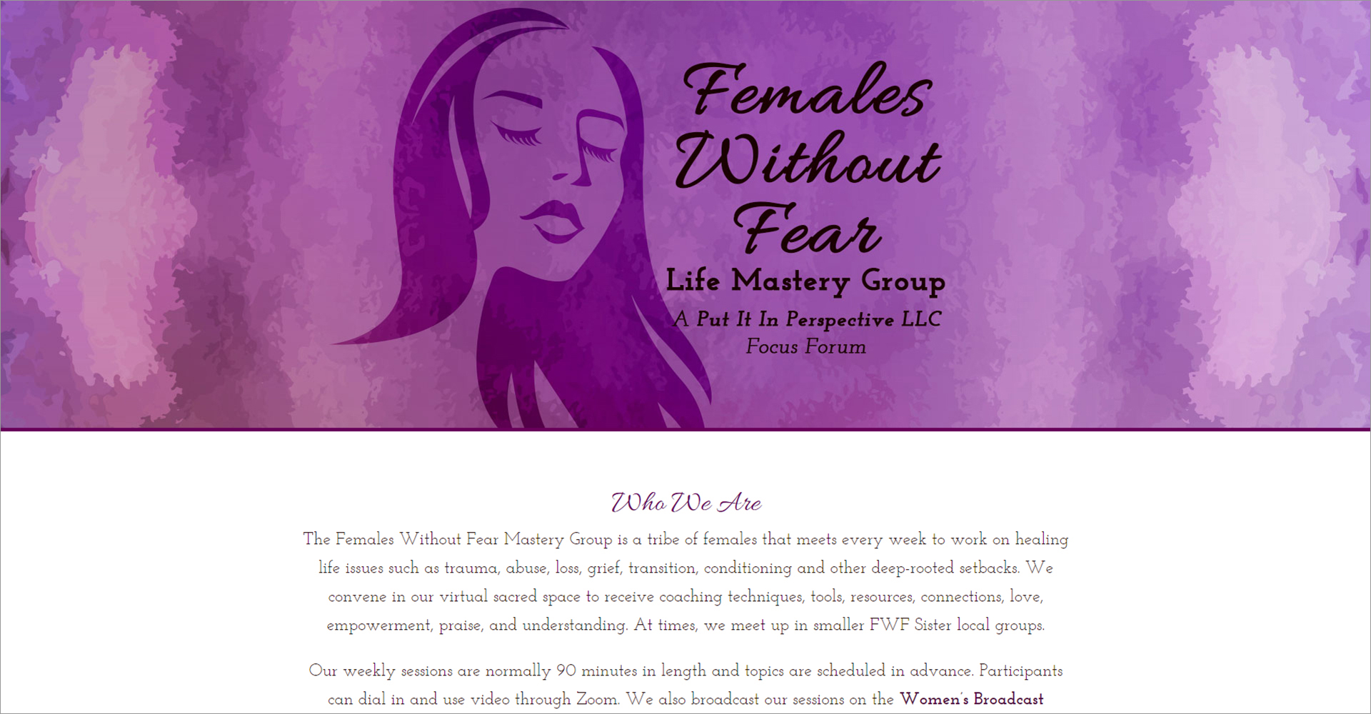 Females Without Fear - Zoda Design