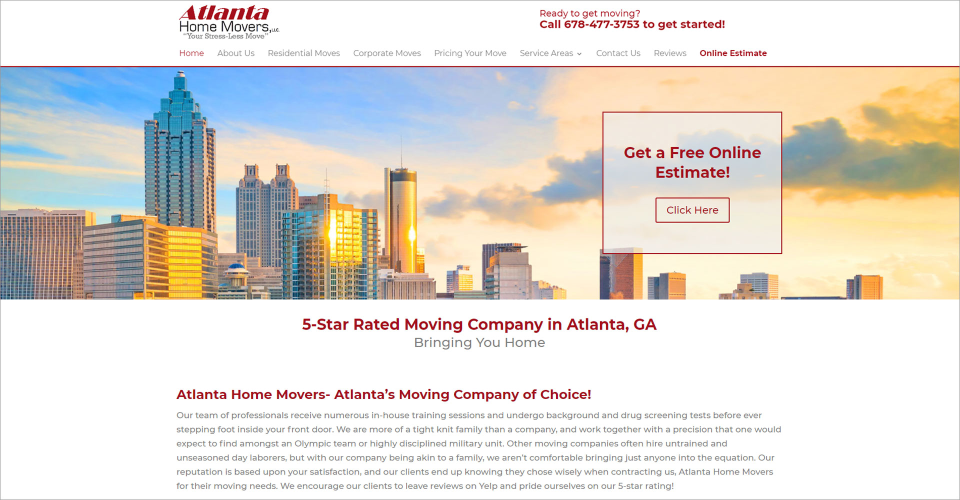 Atlanta Home Movers - Zoda Design