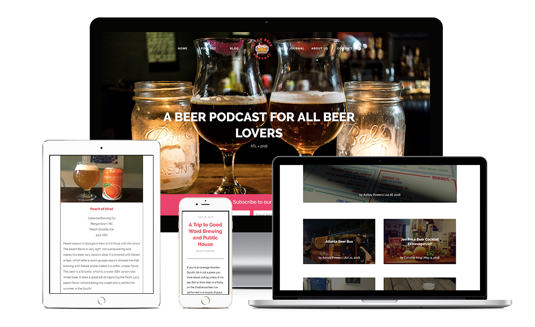 Bitch Beer Podcast - Zoda Design