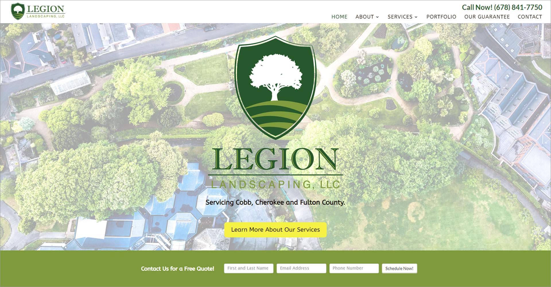 Legion Landscaping - Zoda Design
